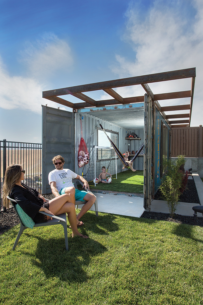 innovative_decorating_ideas_utah_style_design_shipping_container_as_kids_outdoor_playhouse