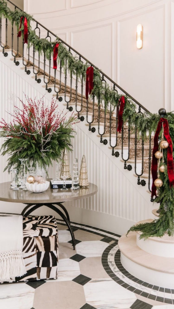 Staircase, Entry, Banister, Chelsea Kasch, Rachel Folkman, Paige Nicolle Photo, Rachel Parcell